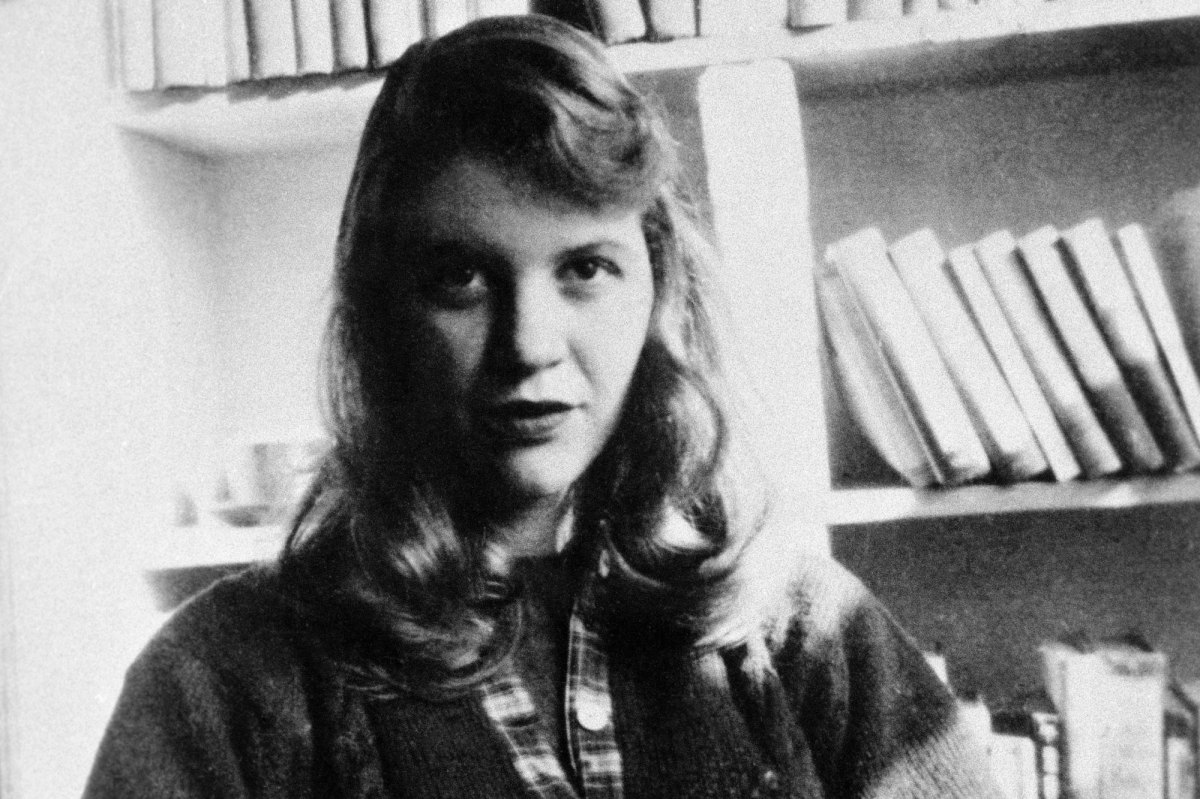 Sylvia Plath. Photo via Wikimedia Commons