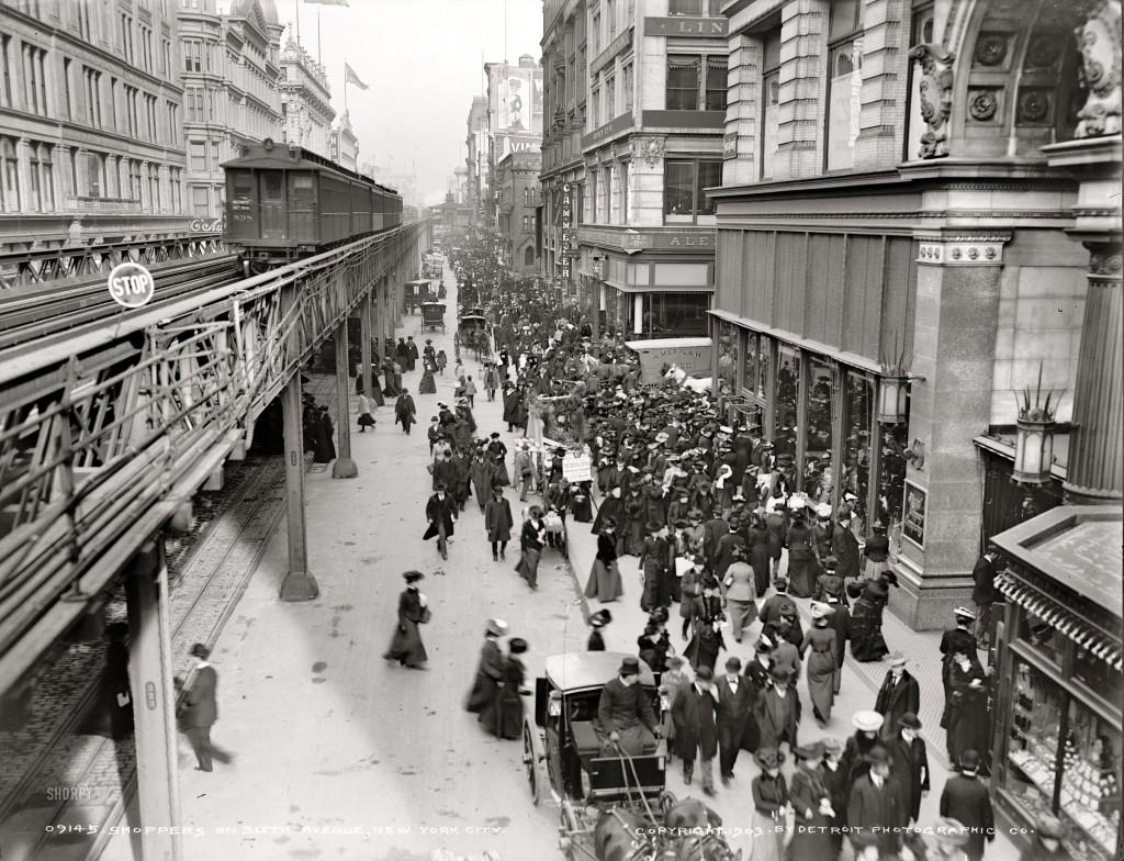 Circa-1903-Shoppers-on-Sixth-Avenue-New-York-City-1024x784