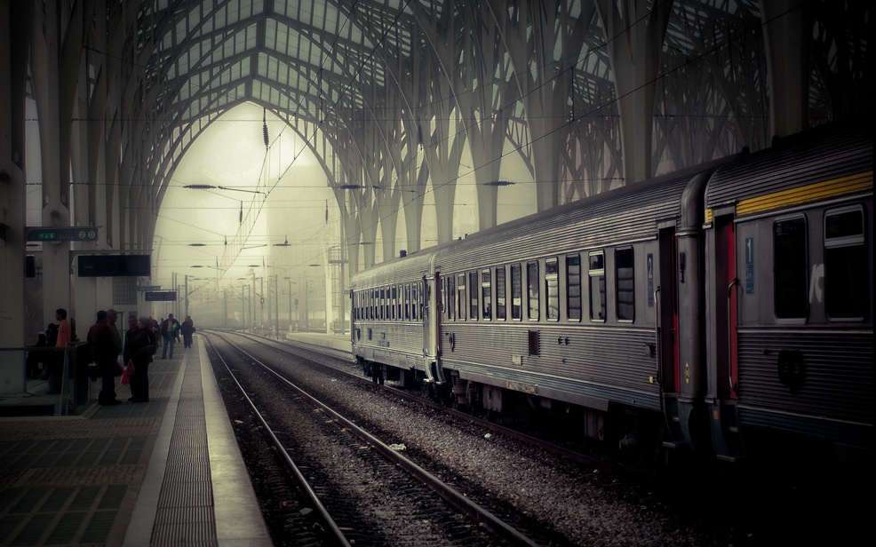 All Aboard: Four Stories About Trains