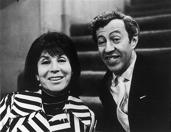 Photo: Betty Comden and Adolph Green. Wikimedia Commons