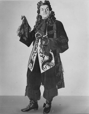 Photo: Boris Karloff as Captain Hook via Wikimedia Commons