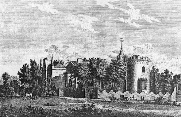 Strawberry Hill engraving.