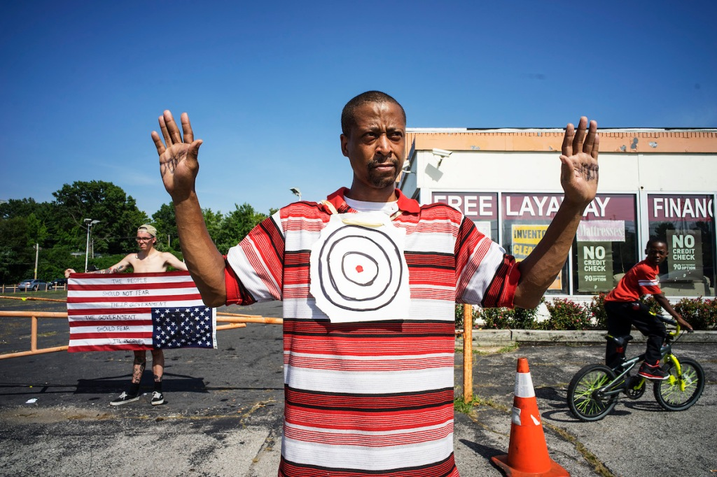 """August 23, 2014. """"The Stripes We Wear"""" 