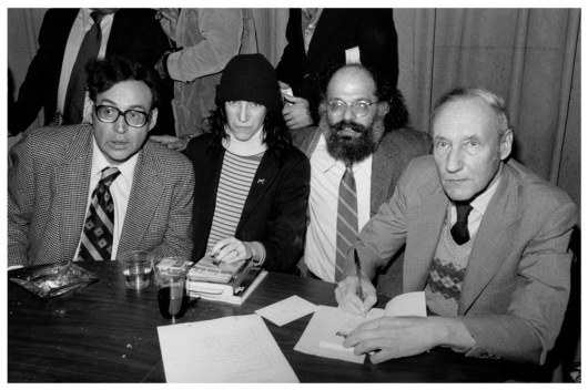 Image result for william s burroughs patti smith