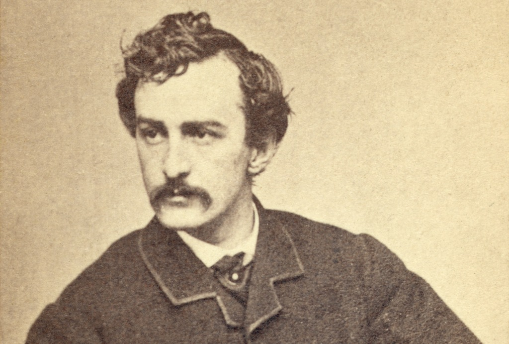 John Wilkes Booth, via Wikimedia Commons