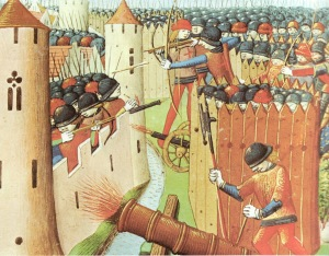 Siege of Orléans. Image via Wikimedia Commons