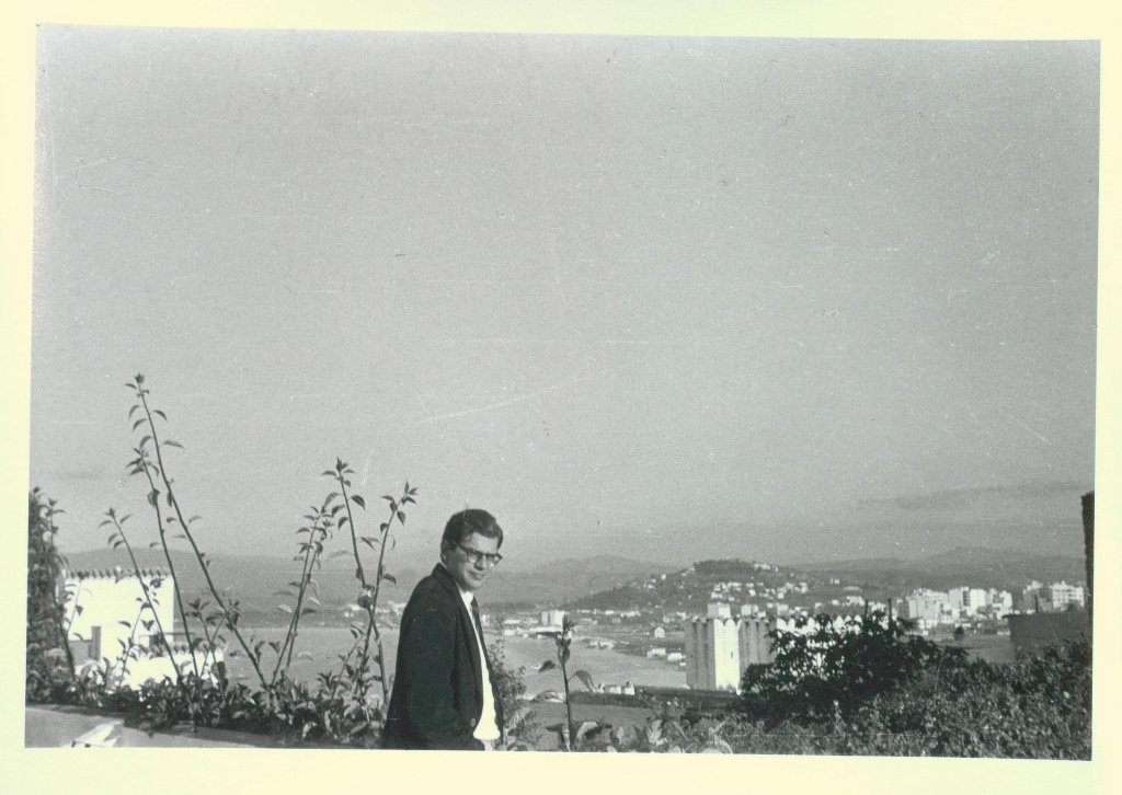 Allen Ginsberg in Tangier, 1957. Photo courtesy of Thomas Fisher Rare Book Library