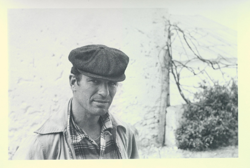 Jack Kerouac in Tangier, 1957.  Photo by  Allen Ginsberg, courtesy ofThomas Fisher Rare Book Library