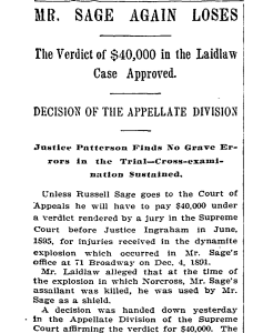Coverage of the trial.