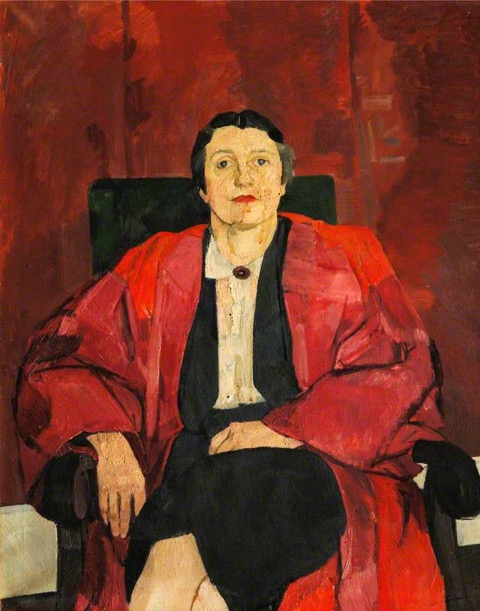 Portrait of Janet Vaughan