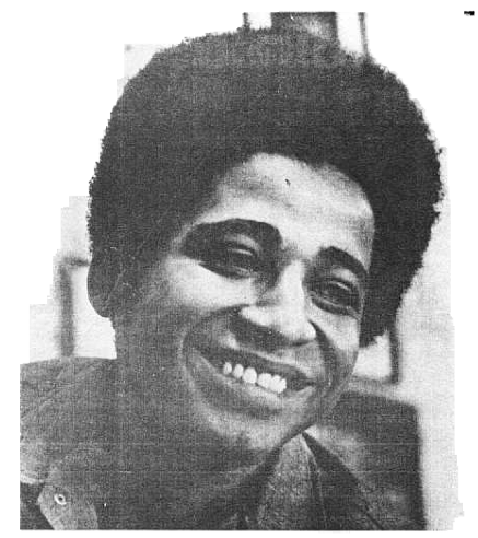 George Jackson, as pictured in The Black Panther newsletter, 1971