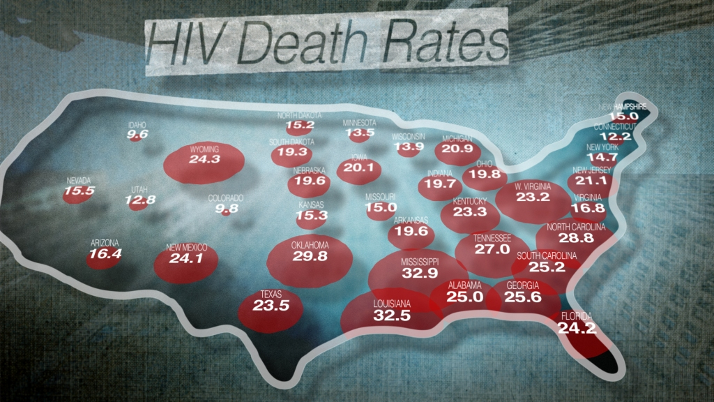 US HIV Death Rates