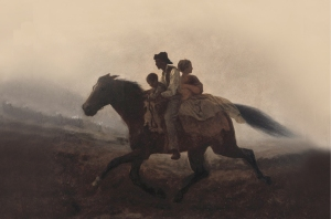 """A Ride for Liberty,"" by  Eastman Johnson (1862)."