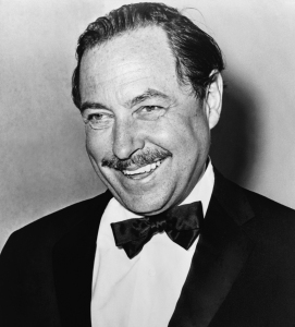 Tennessee Williams. Photo via Wikimedia Commons