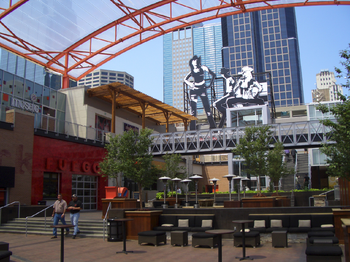 Photo of Kansas City Live! byWikimedia Commons