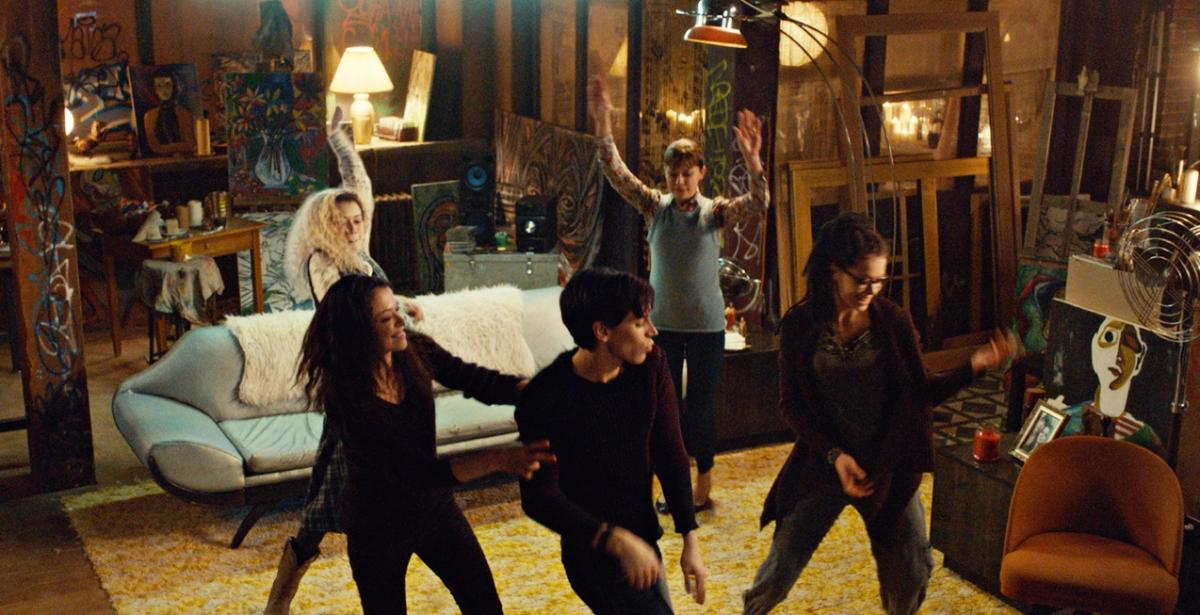 Clone dance party. Photo via BBC America