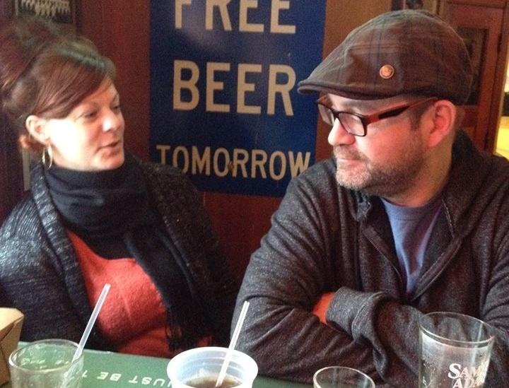 Cosima Herter and Orphan Black co-creator Graeme Manson