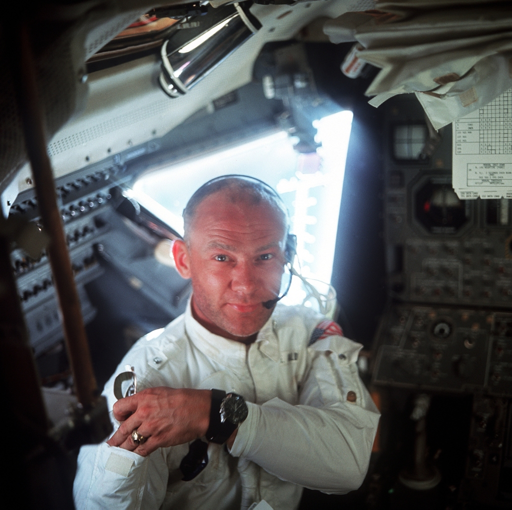 Buzz Aldrin // NASA // Wikimedia Commons