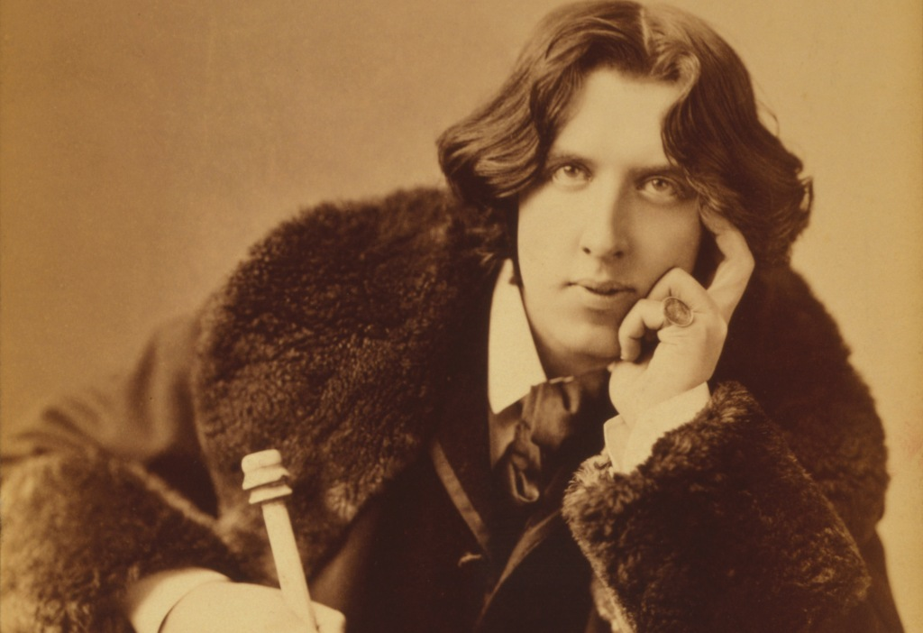 Oscar Wilde. Photo by Napoleon Sarony, via Wikimedia Commons