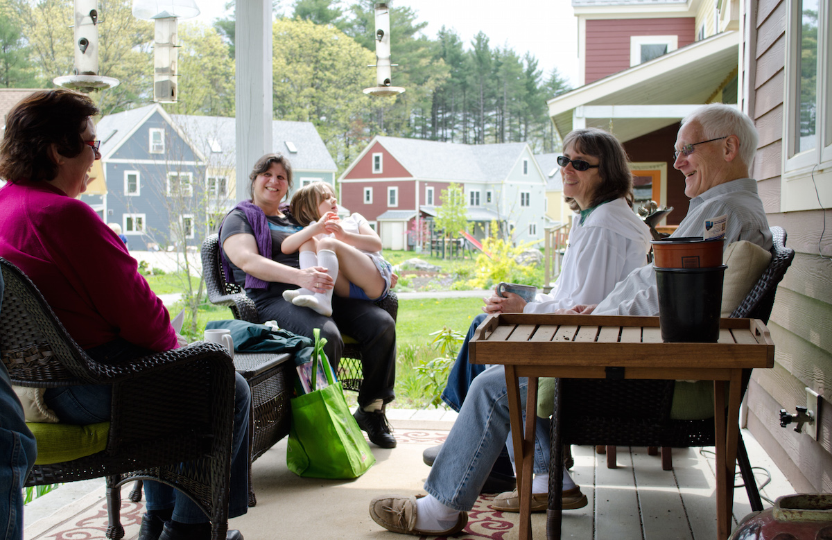 A co-housing community. Photo: Tim Pierce