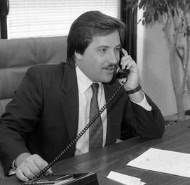 Mayor Nick Wasicsko in 1988. Photo:Wikimedia Commons