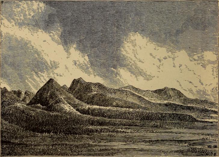 Moraines of Grape Creek (after Stevenson) // Internet Archive public domain image