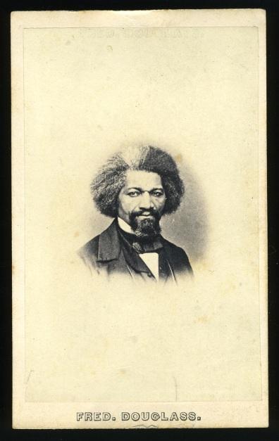 Plate 17 (cat. #18). John White Hurn (1822–1887), January 14, 1862. 1319 Chestnut Street, Philadelphia. Carte-de-visite, Frederick Douglass National Historic Site