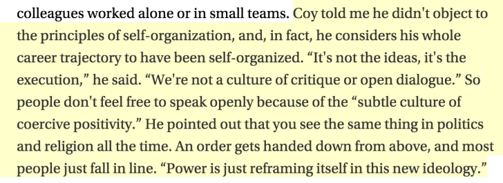 power is just reframing itself