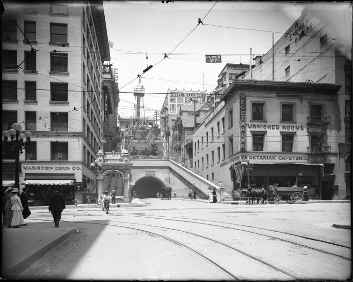Angel's Flight, c. 1910. Photo: Ashley Van Haeften, Flickr