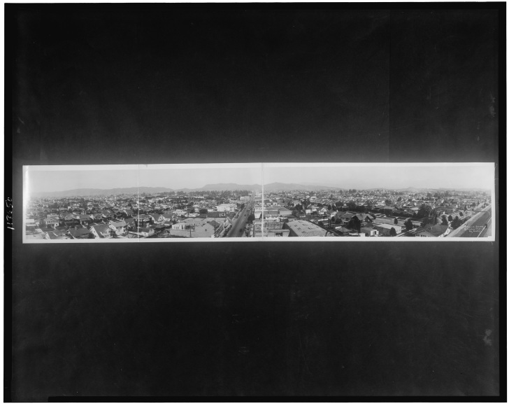 Hollywood, 1923. Photo:Library of Congress