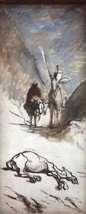Honoré Daumier, Don Quichotte et la mule morte // Wikicommons