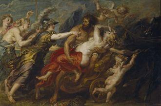 Peter Paul Rubens - The Rape of Proserpina, 1636-1638. Via: Wikimedia Commons