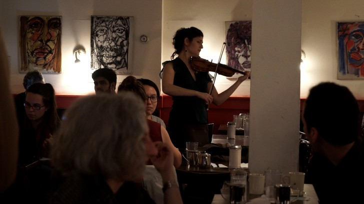 Photo: Michelle Ross and 'Discovering Bach'