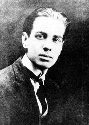Borges at 22. Via Wikimedia Commons.