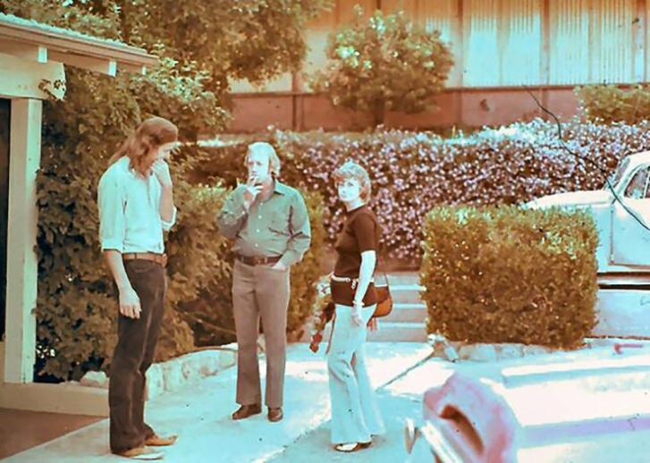 Barbara with Doug and John. (Photo: Courtesy Barbara Williamson)