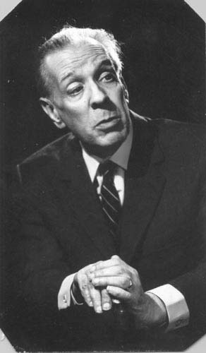 Borges in 1976. Via Wikimedia Commons.