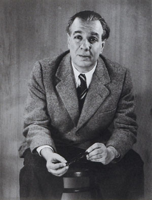 Borges in 1951. Via Wikimedia Commons.