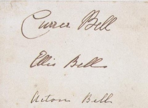 Brontë_sisters'_signatures_as_Currer,_Ellis_and_Acton_Bell