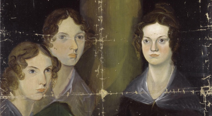 The Brontë Sisters, by their brother Branwell. Via  Wikimedia Commons.