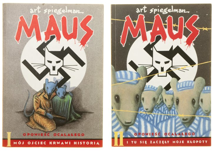 Maus-and-Maus-II-Covers