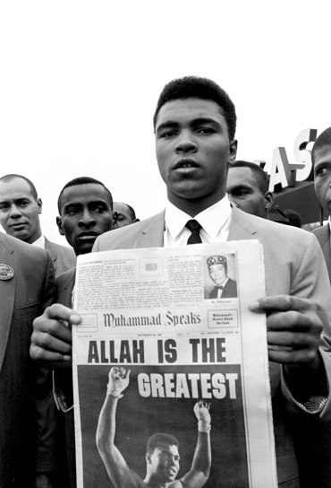 Muhammad Ali in 1965. AP Photo