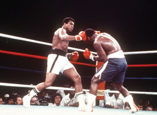"The ""Thrilla in Manila,"" 1975. AP Photo"