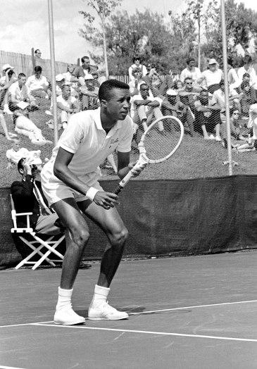 Arthur Ashe in 1965. AP Photo
