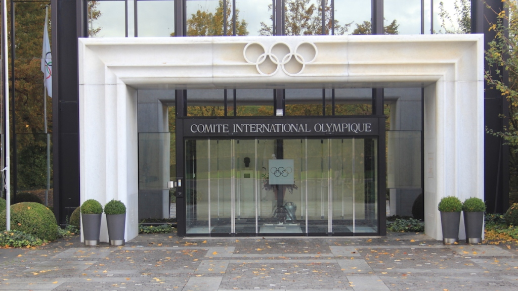 International Olympic Committee headquarters in Lausanne, Switzerland. (Wikimedia Commons)