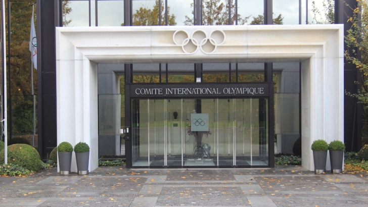 International Olympic Committee headquarters in Lausanne, Switzerland. (Wikimedia Commons)