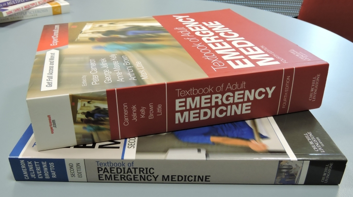 George Jelinek is a co-author of the standard Australian textbooks of emergency medicine.