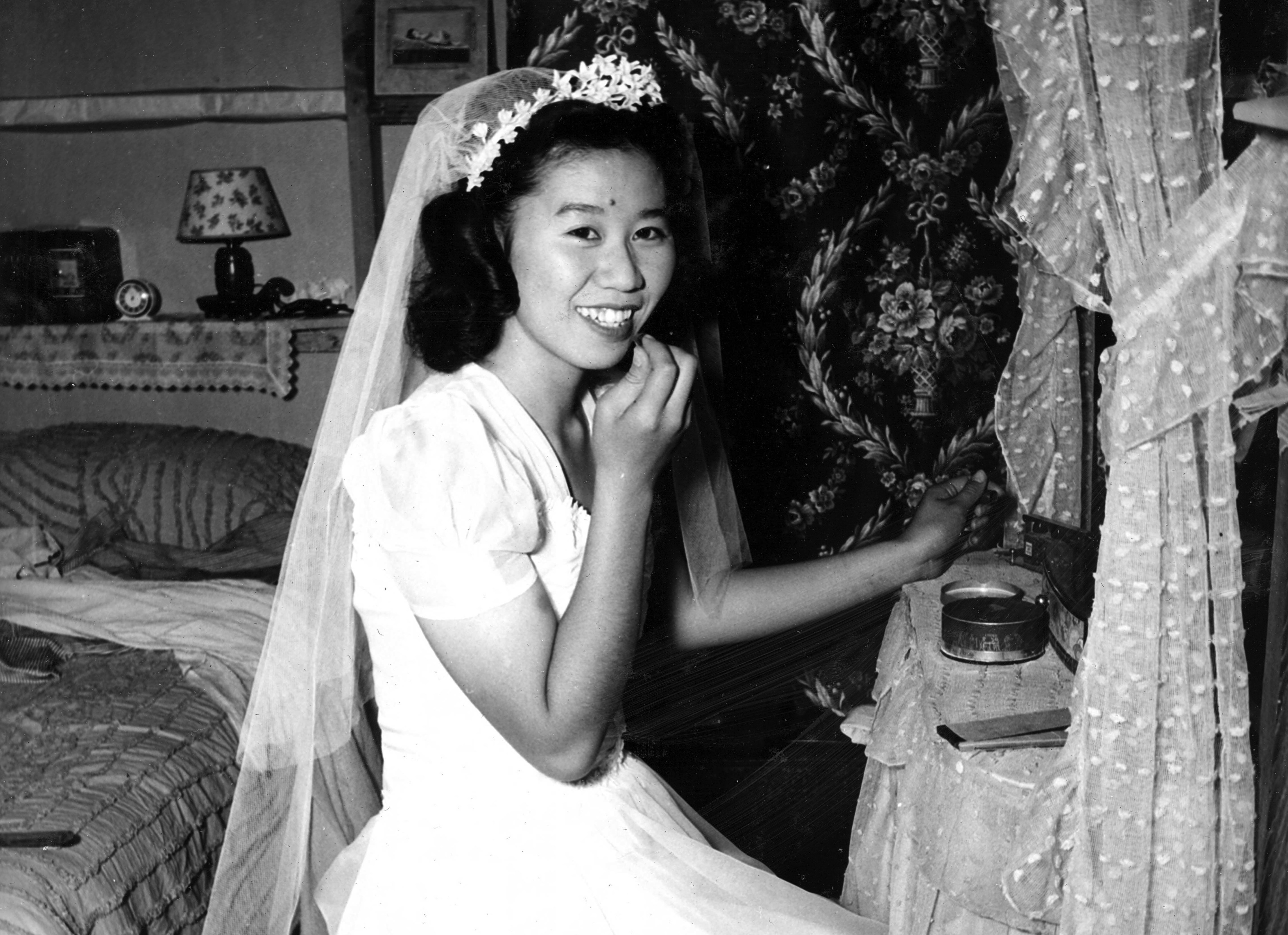 From with the war bride story