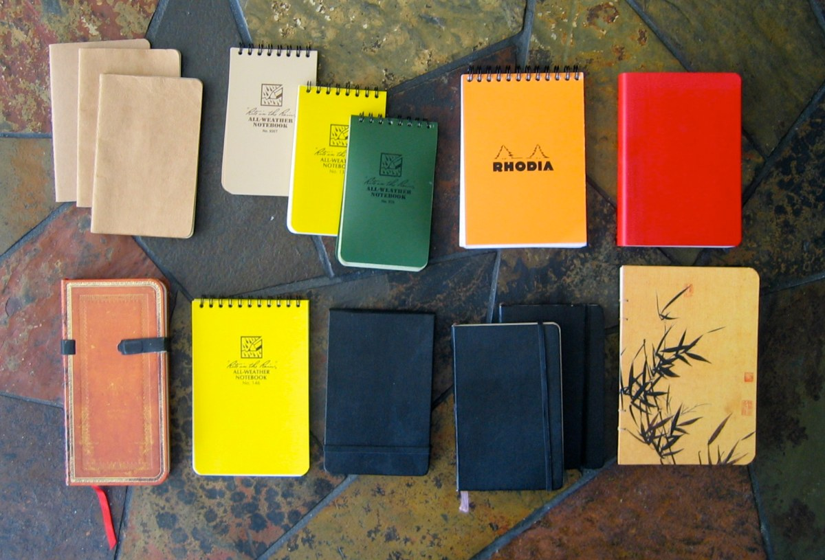 The Care and Keeping of Notebooks: A Reading List