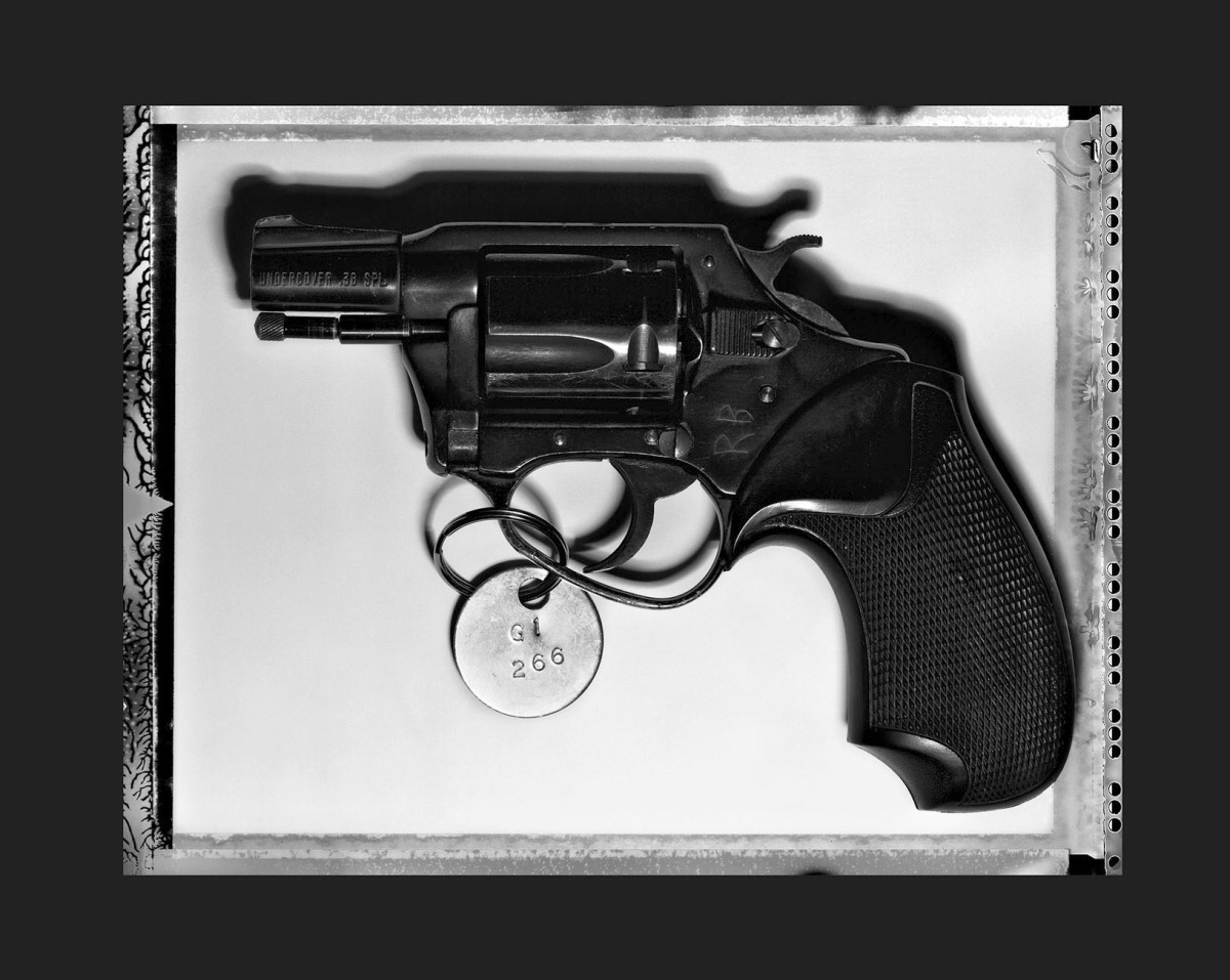The gun that killed John Lennon. All images by Henry Leutwyler.