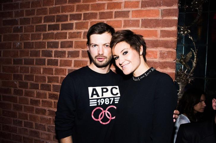 Roman Mazurenko and Eugenia Kuyda